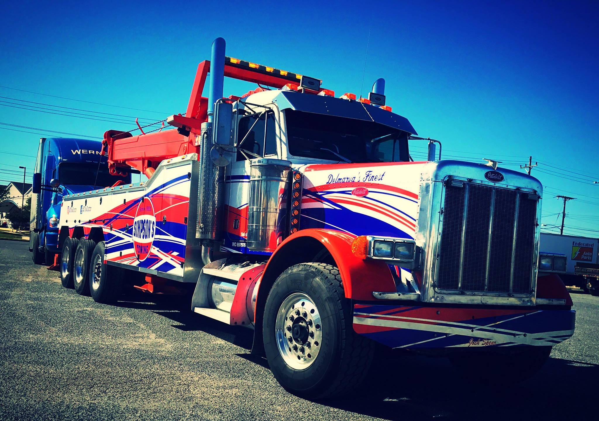 Simpsons Towing Service Eastern Shore of Maryland Towing Services